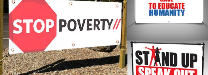 Vinyl Banners for Non Profit Organization
