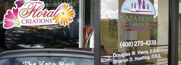 Window Decals Printing